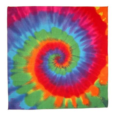 MTL® Rainbow Tie Dye Bandana