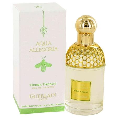 Guerlain AQUA ALLEGORIA HERBA FRESCA Eau De Toilette Spray (Unisex) for Women 2.5 oz