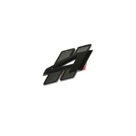 Factory New Mopar Part # 68366241-AA Black Liftgate AWD Badge for Dodge Durango 2018](Party Factory)