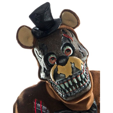 Five Nights at Freddy's - Nightmare Freddy Adult PVC 3/4 Mask