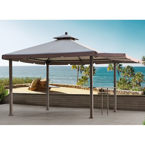 SunJoy Replacement Canopy for Double Roof Gazebo