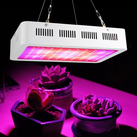 - LED Grow Light, 1000W (100*10W) Double Chips Supe  Full Spectrum Hydroponic Plant Grow Lights for Indoor Garden Hydroponic Greenhouse Flower