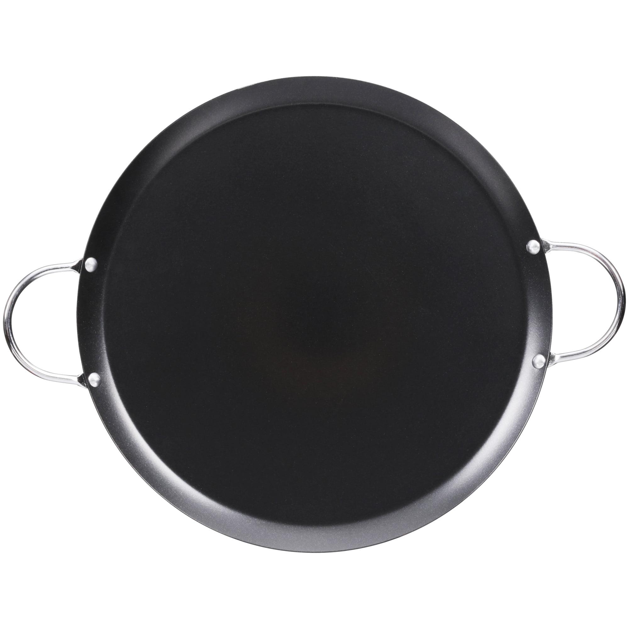 Imusa Round 13 Inch Carbon Steel Round Comal Black Walmart Com Walmart Com