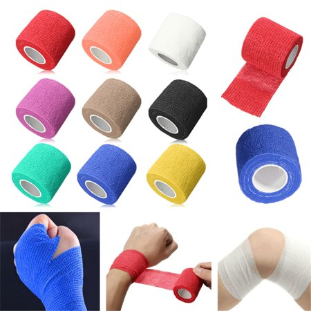 First Aid Supplies Medical Health Care Treatment Sports Self-Adhesive Elastic Bandage Gauze Tape - Carle Medical Supply