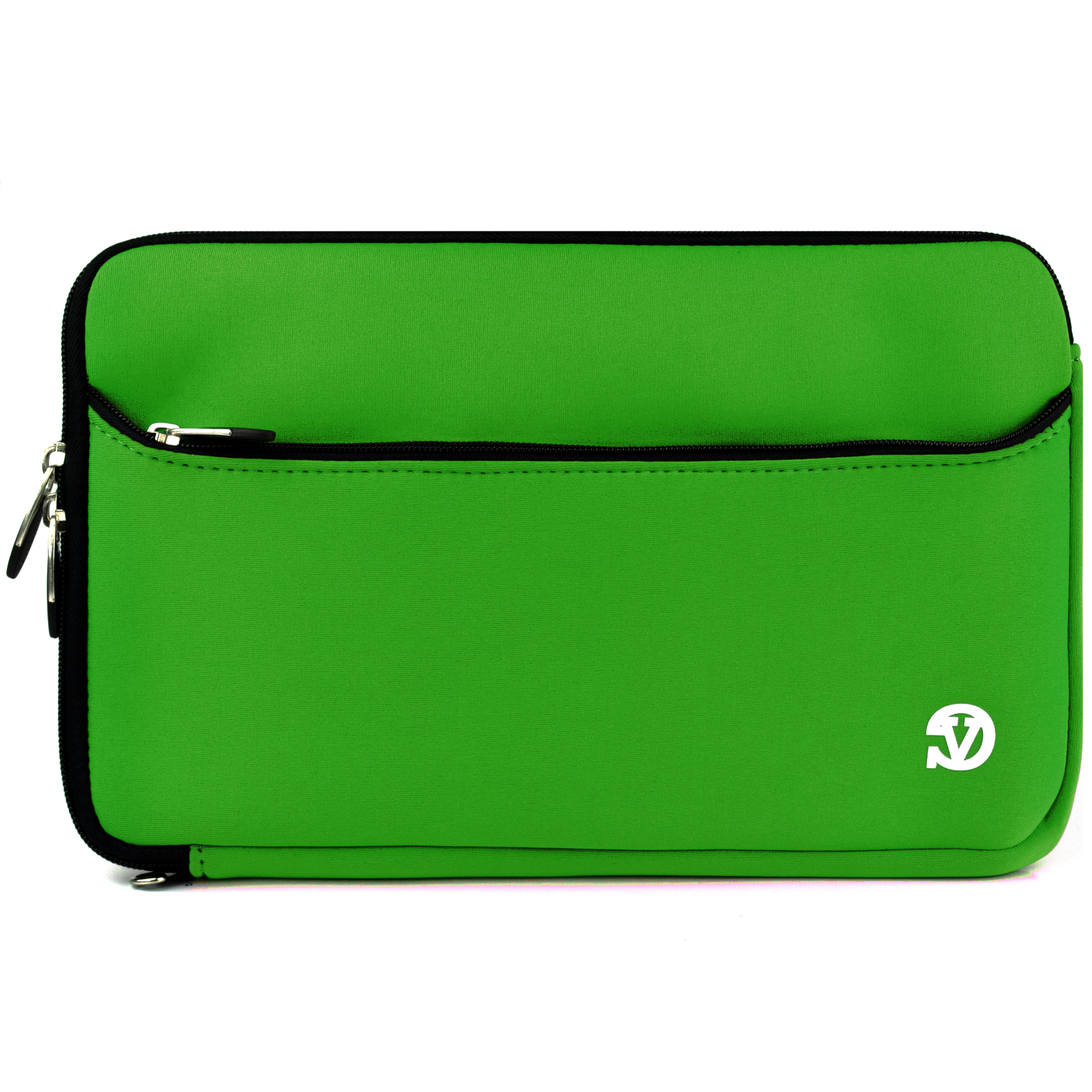 VANGODDY Neoprene Laptop / Notebook / Ultrabook Slim Compact Carrying Sleeve fits up to 15, 15.6 inch Devices [Assorted Colors]