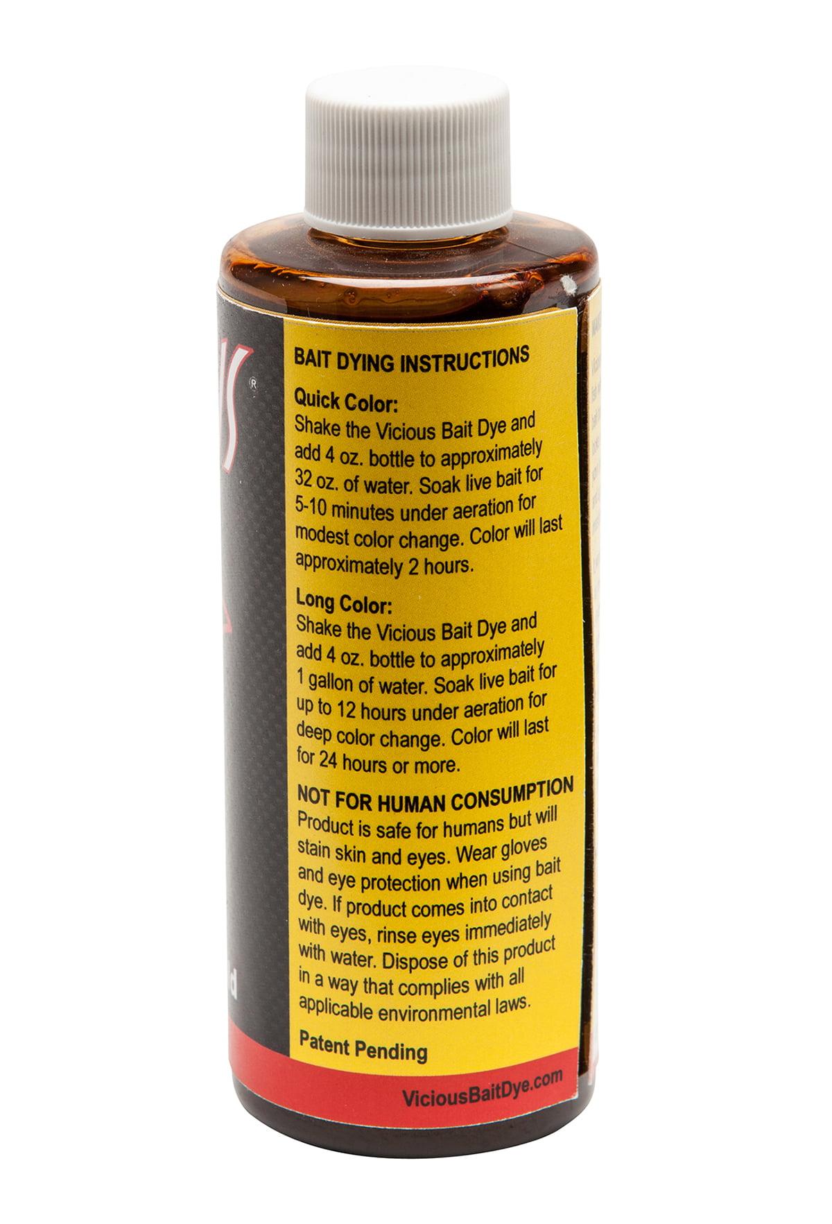 Vicious Bait Dye, 14k Gold, 4 oz