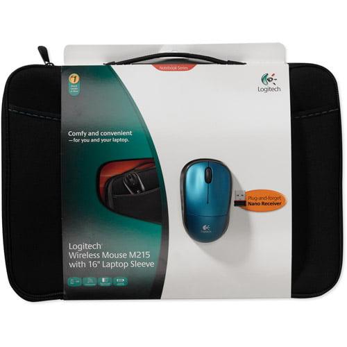 Logitech 910-002140 16'' NB Sleeve+Mouse BLUE