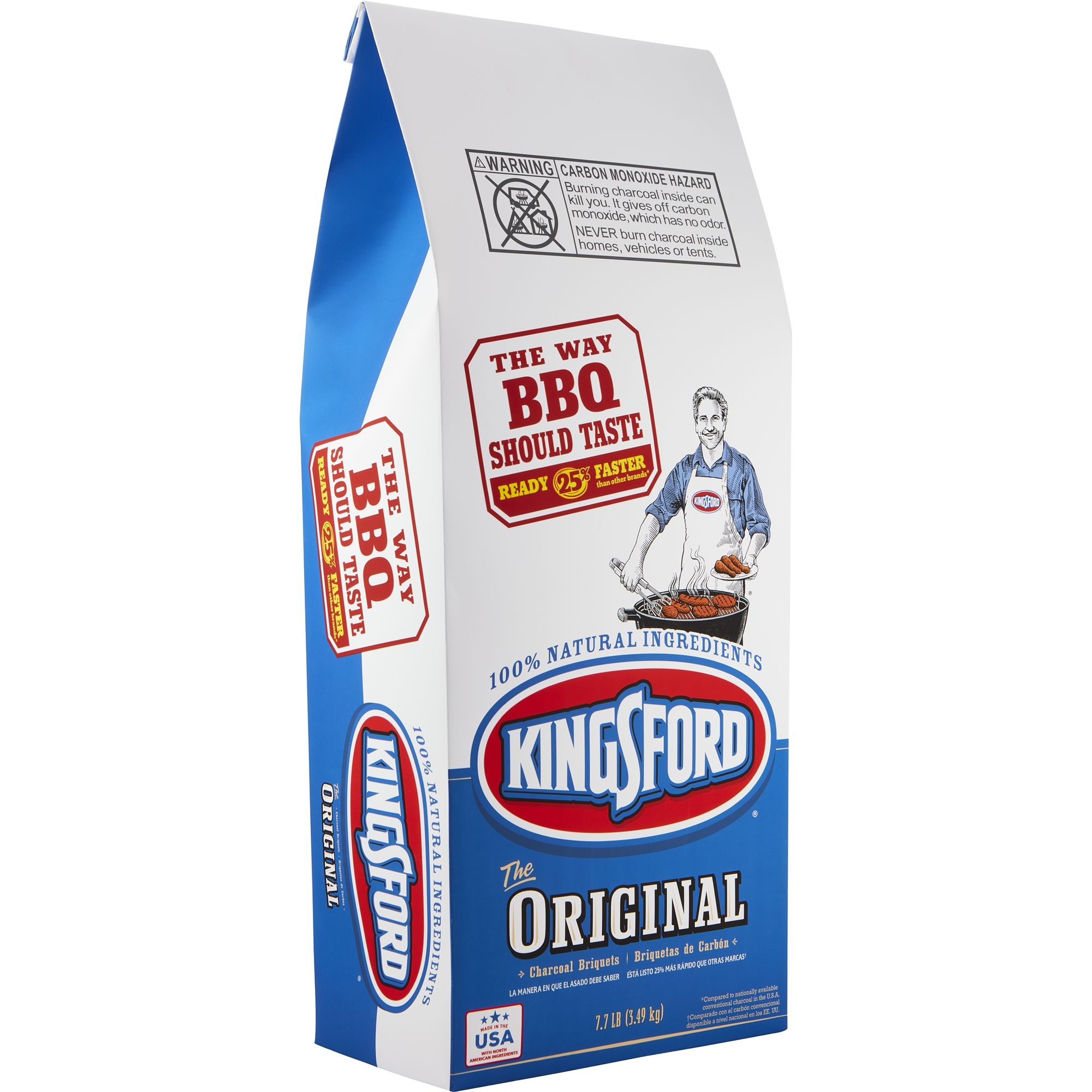 Kingsford Original Charcoal Briquettes, 7.7 lb Bag
