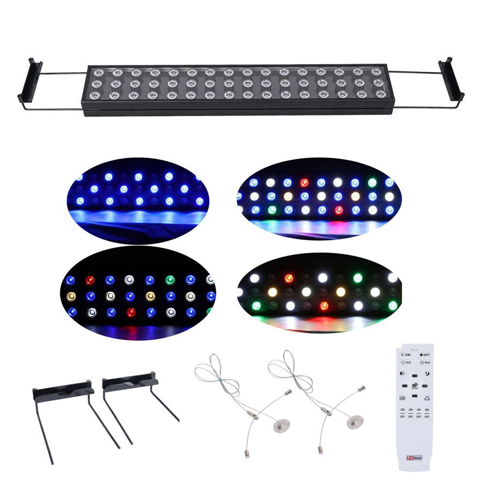 LED Aquarium Light Bar, BEAMNOVA 4 PACK 144W 23 Inch Dimm...