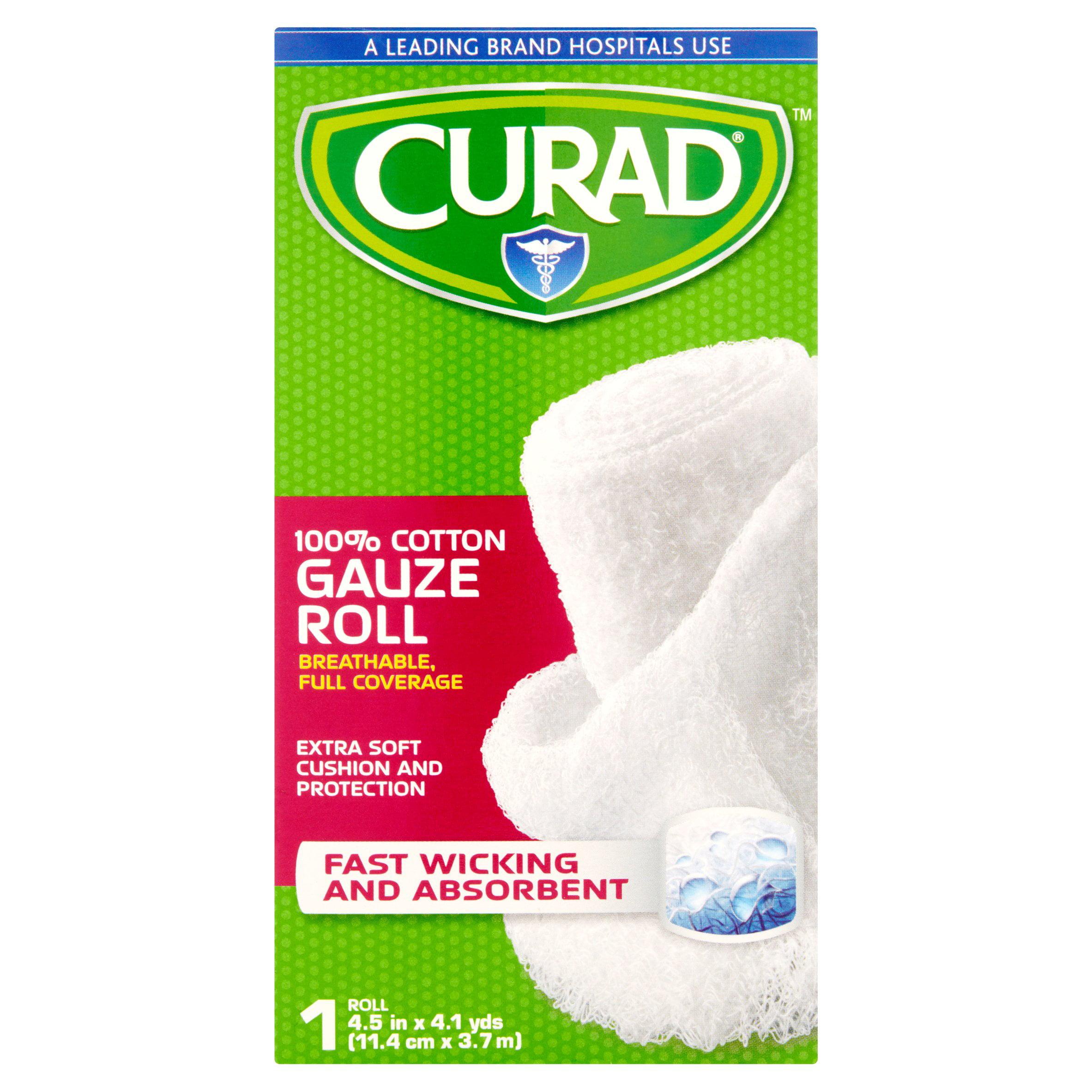 Curad 100% Cotton Gauze Roll