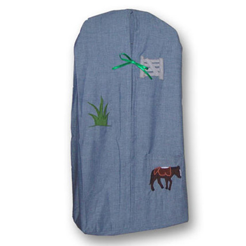 Patch Magic Horse Friends Cotton Diaper Stacker