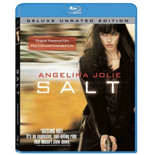 Salt (Unrated) (Deluxe Extended Edition) (Blu-ray) (With INSTAWATCH)