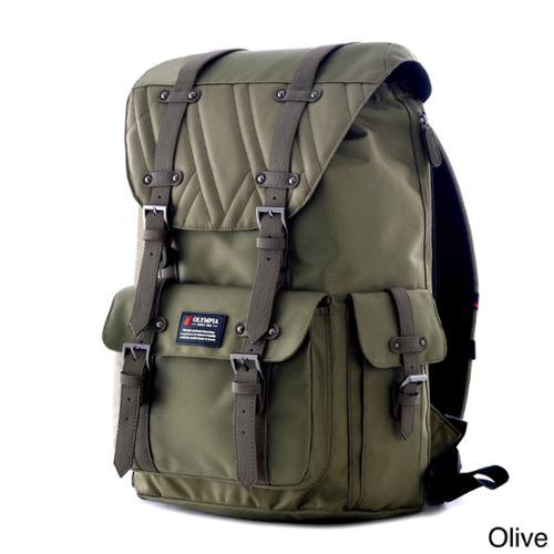 Olympia Hopkins 18-inch Backpack Olive