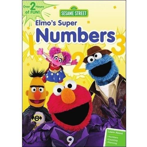 Sesame Street: Elmo's Super Numbers (Full Frame)