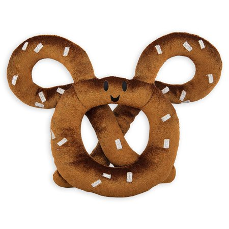 Disney Parks Mickey Mouse Icon Pretzel Plush New with Tags Disney Collection Mickey Icon