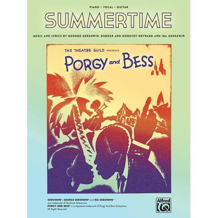 Summertime (from Porgy and Bess) Sheet Music - eBook