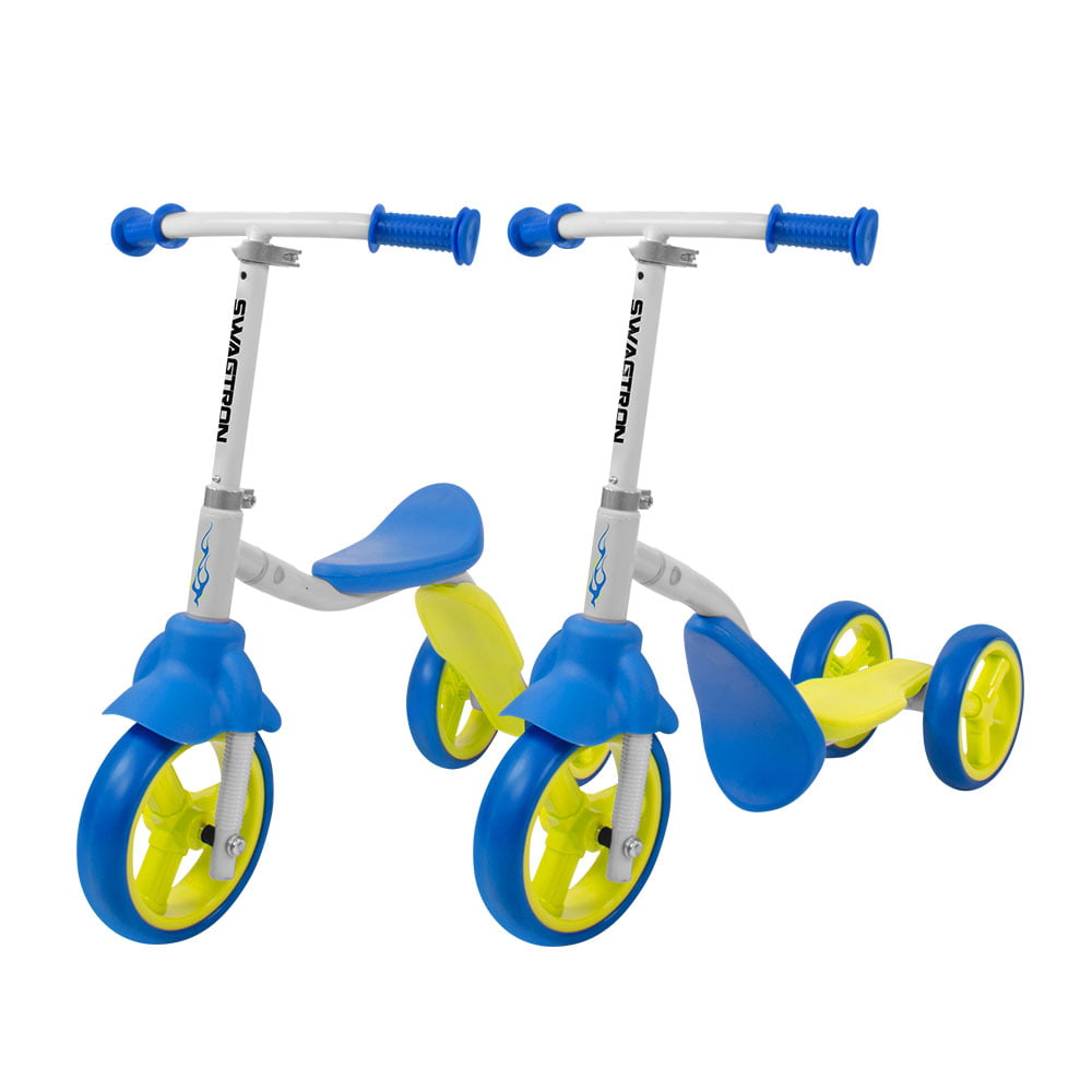 K2 Toddler 3 Wheel Scooter Ride On Balance Trike 2 In 1 Adjule For 4 5 Year Old Kids Boy Or Transforms Seconds