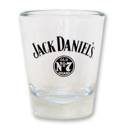 jack daniel's brand swing bug shot glass