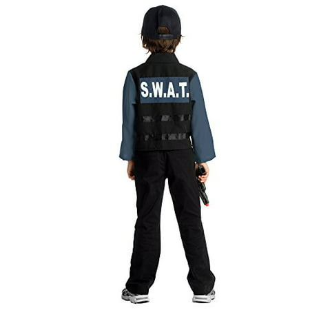 Dress Up America  Boys' SWAT Team Role Play Set - Girl Swat Team Costume