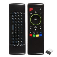 2.4G Wireless Keyboard Remote Control 6- Sensor with Infrared Remote Learning for MINI PC Smart TV Android
