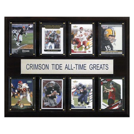 - C&I Collectables NCAA Football 12x15 Alabama Crimson Tide All-Time Greats Plaque