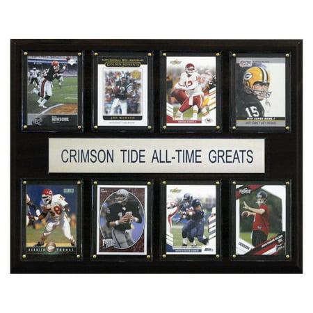 C&I Collectables NCAA Football 12x15 Alabama Crimson Tide All-Time Greats Plaque