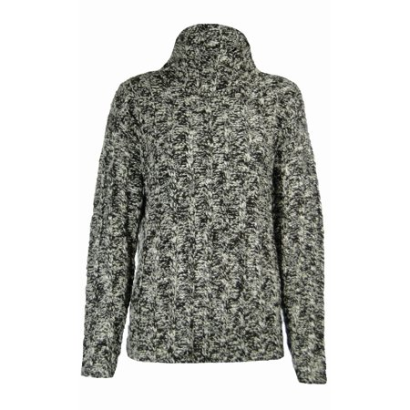 Sutton Studio Womens Cowl Neck Oversized Wool Sweater Misses