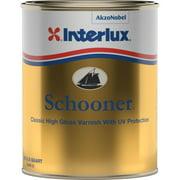Interlux Y96/QT Schooner Varnish with UV Resistance - Quart