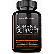 Best Adrenal Supports - Adrenal Support - Natural Adrenal Fatigue Supplements, Cortisol Review