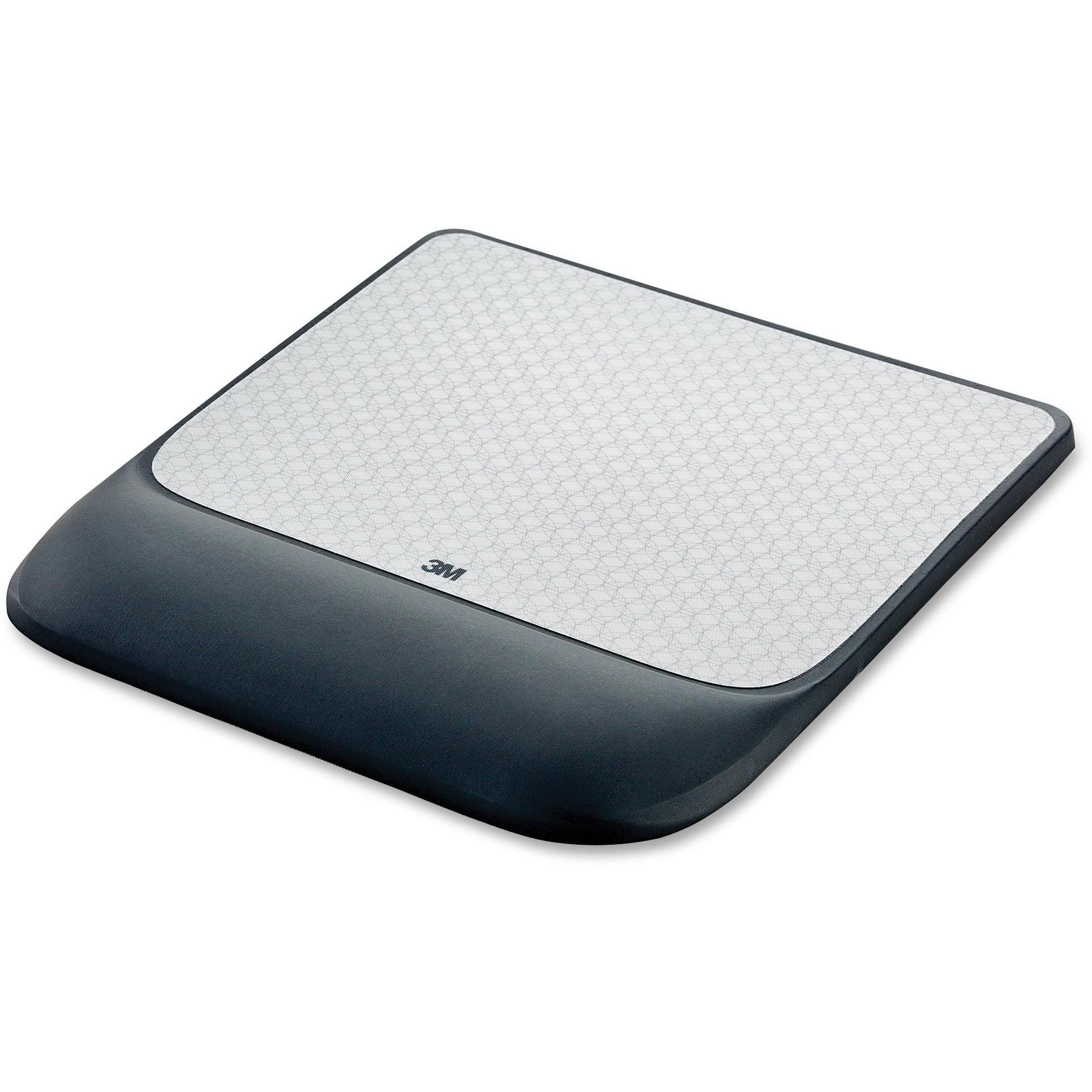 3M, MMMMW85B, Precise Gel Wrist Rest Mouse Pad, 1, Black