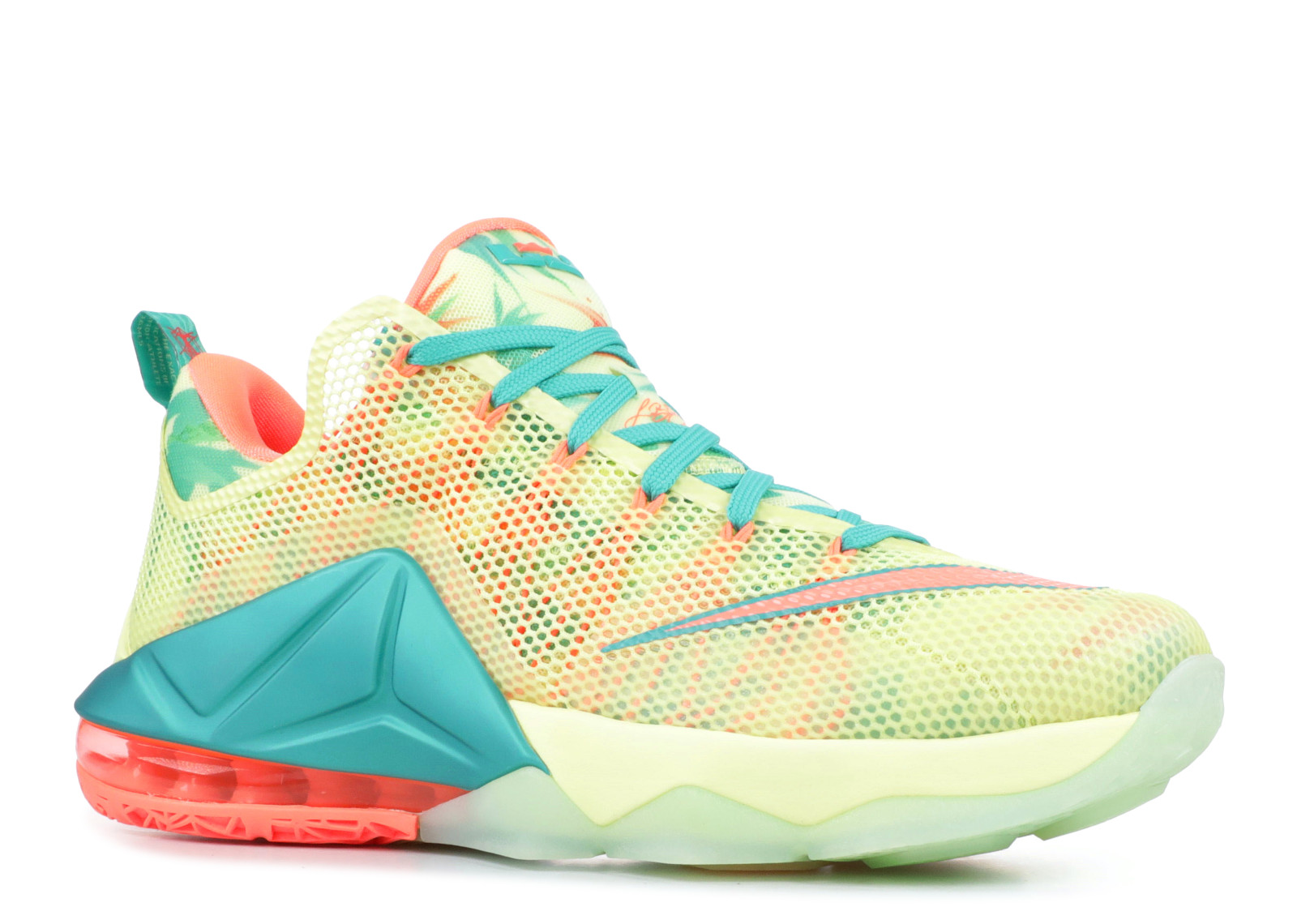 low priced 8e1d1 e49b0 Nike Lebron 12 Low Prm  Lebronold Palmer  - 776652-383 - Size 10
