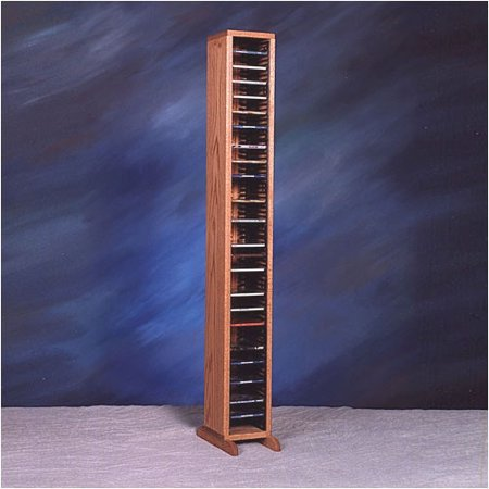 Wood Shed 100 Series 80 CD Multimedia Storage Rack