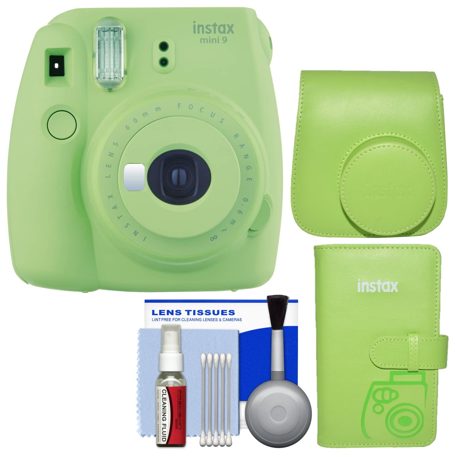 Fujifilm Instax Mini 9 Instant Film Camera (Cobalt Blue) with Groovy Case + Photo Album + Kit