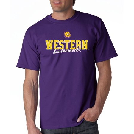 Illini T-shirts - J2 Sport Western Illinois Leathernecks NCAA Campus Script Unisex T-shirt