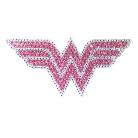 Wonder Woman Rhinestone Car Window - Wonder Woman Emblem