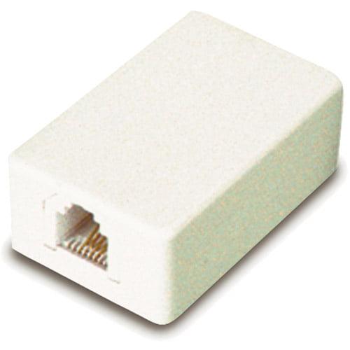 GE 26527 Mini-Surface Jack (Almond)