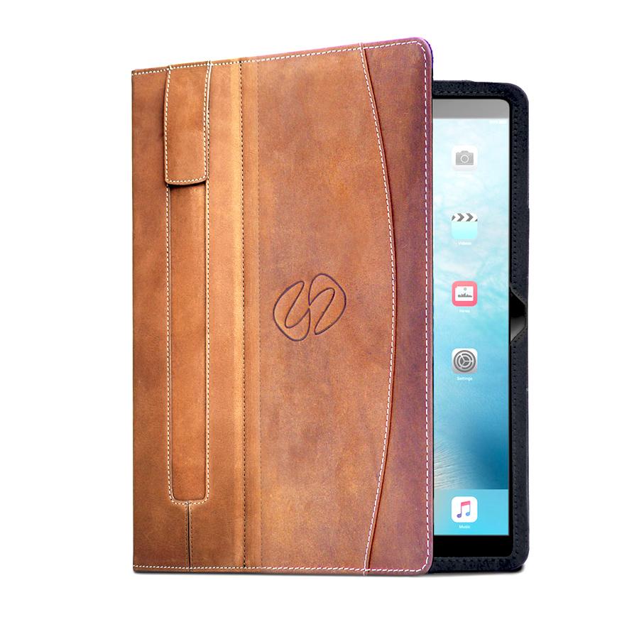 MacCase Premium Leather iPad Pro 9.7 Folio - Vintage Brown