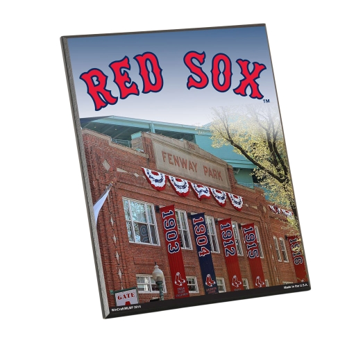 Boston Red Sox WinCraft  8'' x 10'' Easel Wood Sign - No Size