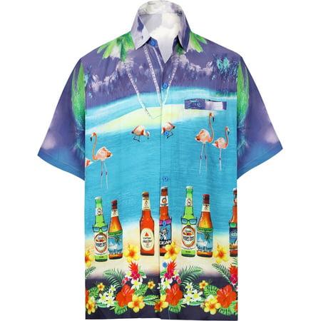 b74bb05581540 HAPPY BAY - Hawaiian Shirt Mens Beach Aloha Camp Party Holiday Short ...