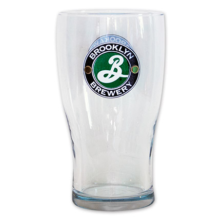 Brooklyn Brewery Tulip Pint Glass by