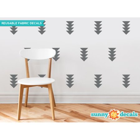 - Sunny Decals Four-Triangle-Arrow Wall Decal (Set of 32)