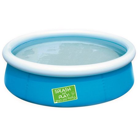 Bestway my first fast set pool blue for Swimming pool supplies walmart
