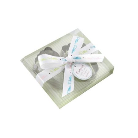 - Pitter-Patter of Little Feet Stainless-Steel Baby Footprint Cookie Cutters
