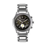 Hush Puppies  Men's Black Dial Stainless Steel Watch 7055M.1502