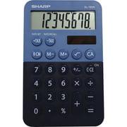 Sharp, SHREL760RBBL, EL-760RBBL Desktop Calculator, 1 Each, Blue