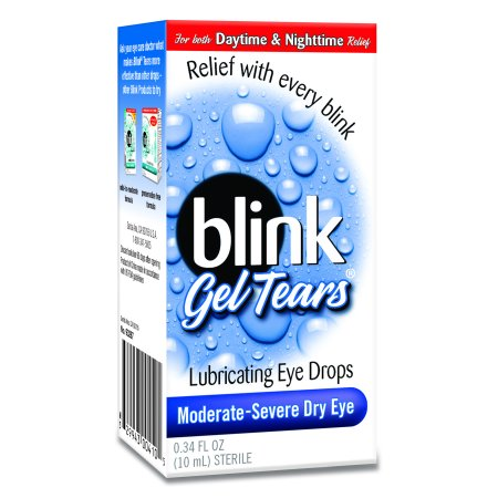 Blink Gel Tears Lubricating Eye Drops, 0.34 fl oz](Halloween Blinking Eyes Bushes)