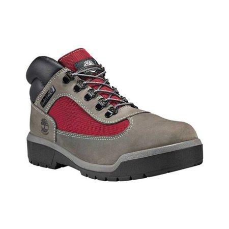 daca9534a84 Timberland Men's Field F/L Waterproof Grey Waterbuck Boot