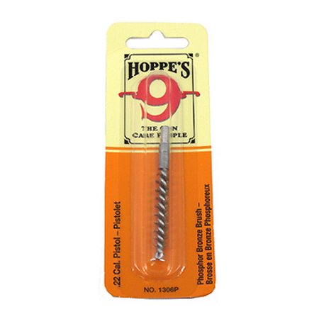 Hoppes Phosphor Bronze Brush 1306P .22 Caliber Pistol (Hi Standard Model Hd Military 22 Pistol)