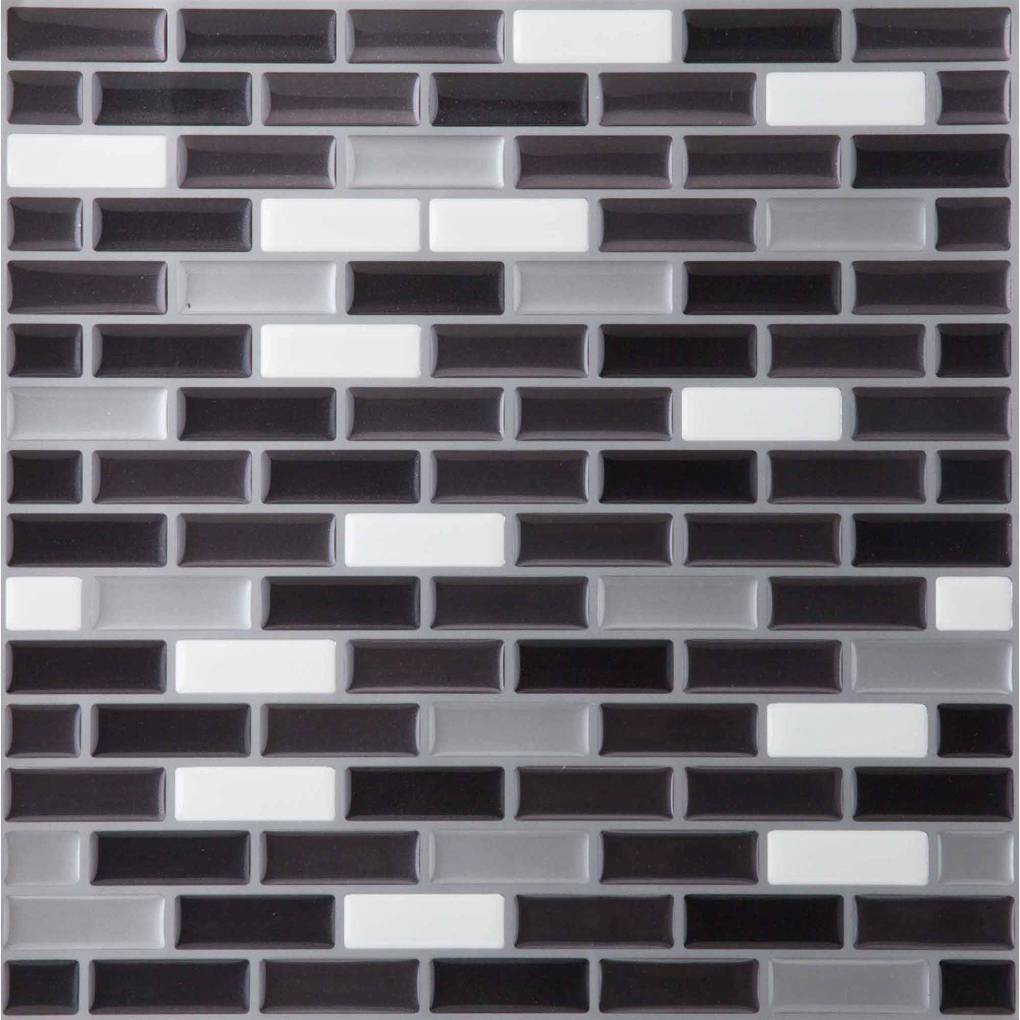 Magic Gel Wall Tile Spectrum Metallic Mosaic
