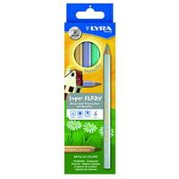 Lyra - Super FERBY Colored Pencil Set - 6-Color Set - Metallic Colors